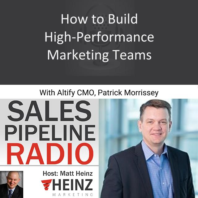 How to Build High-Performance Marketing Teams