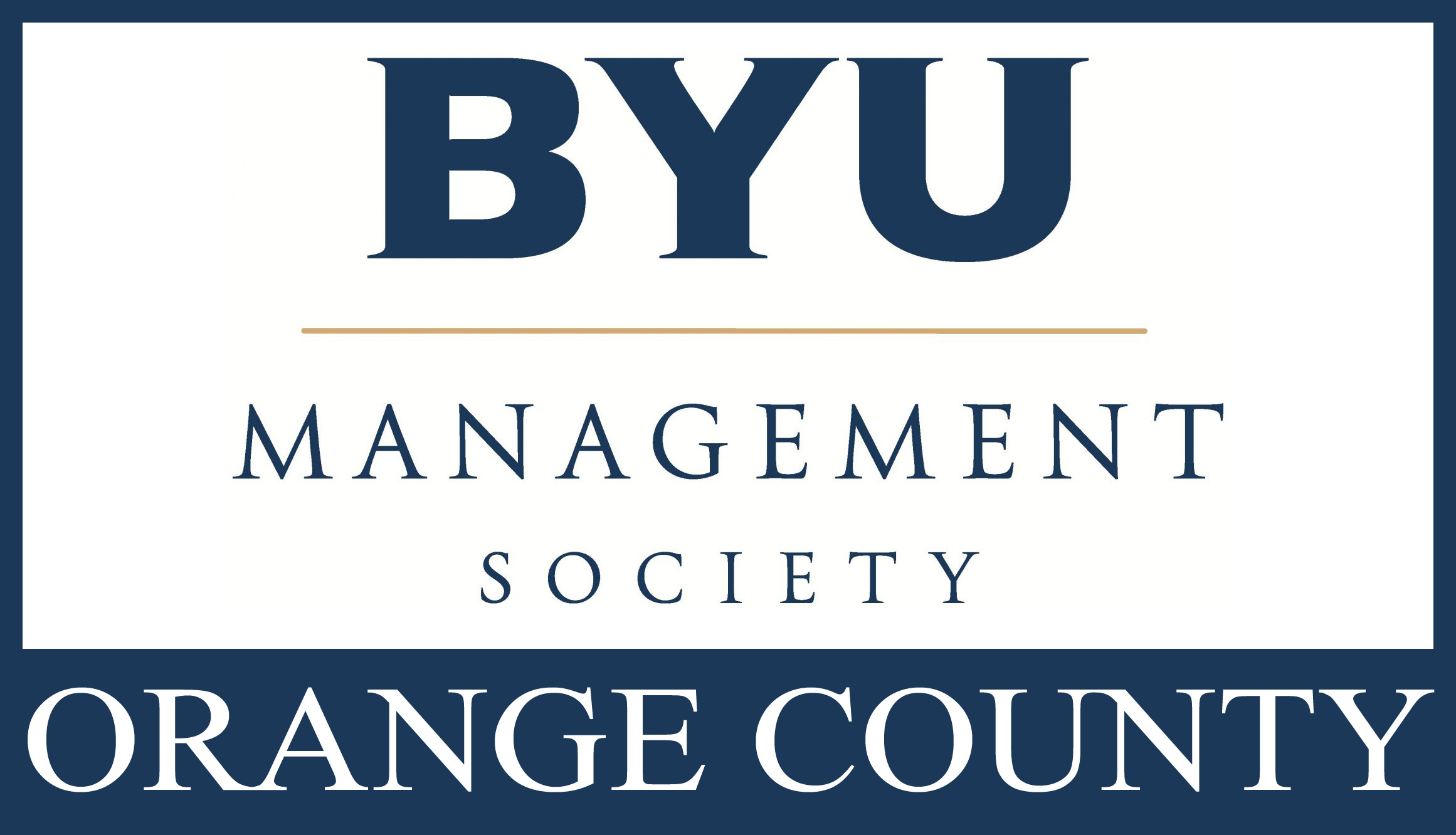 BYU Management Society - Orange County Chapter