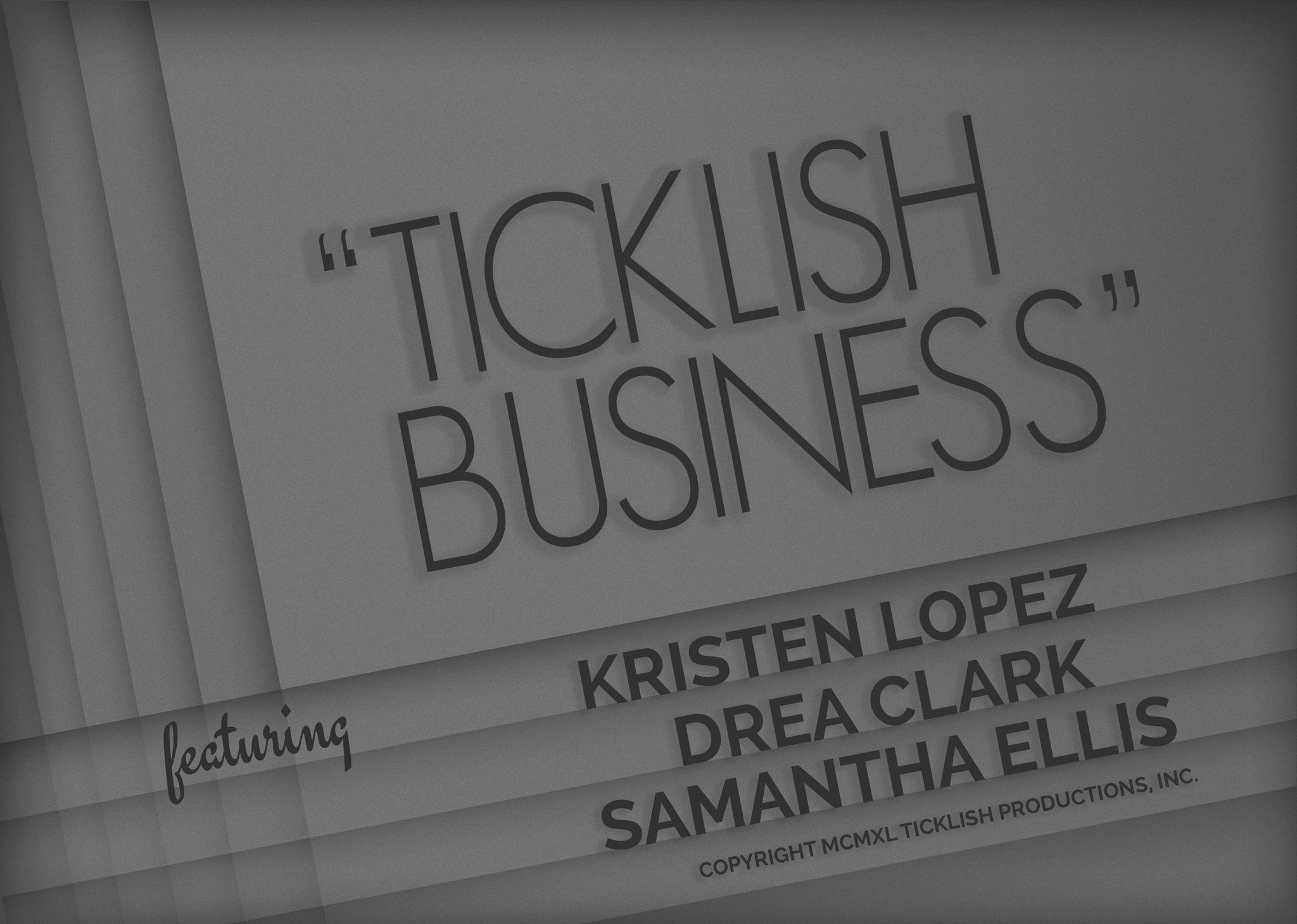 Ticklish Business