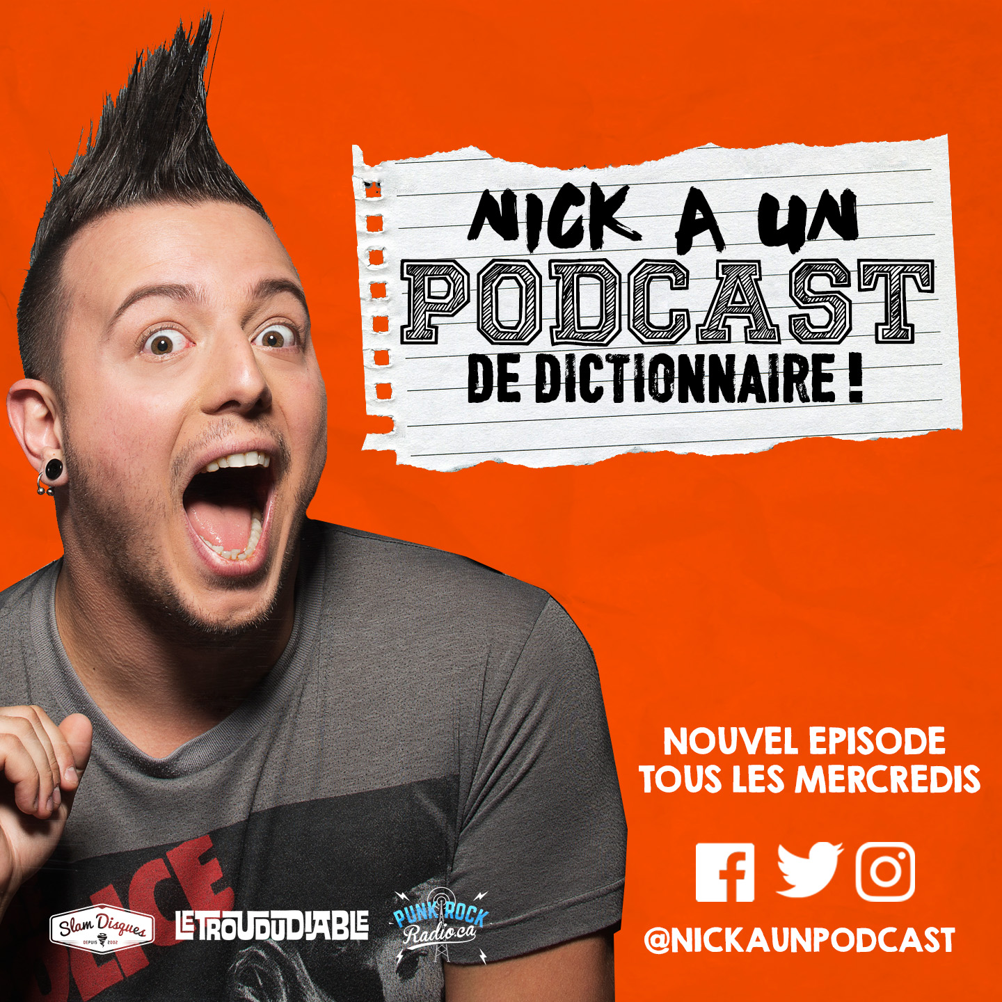 Nick a un Podcast de Dictionnaire!