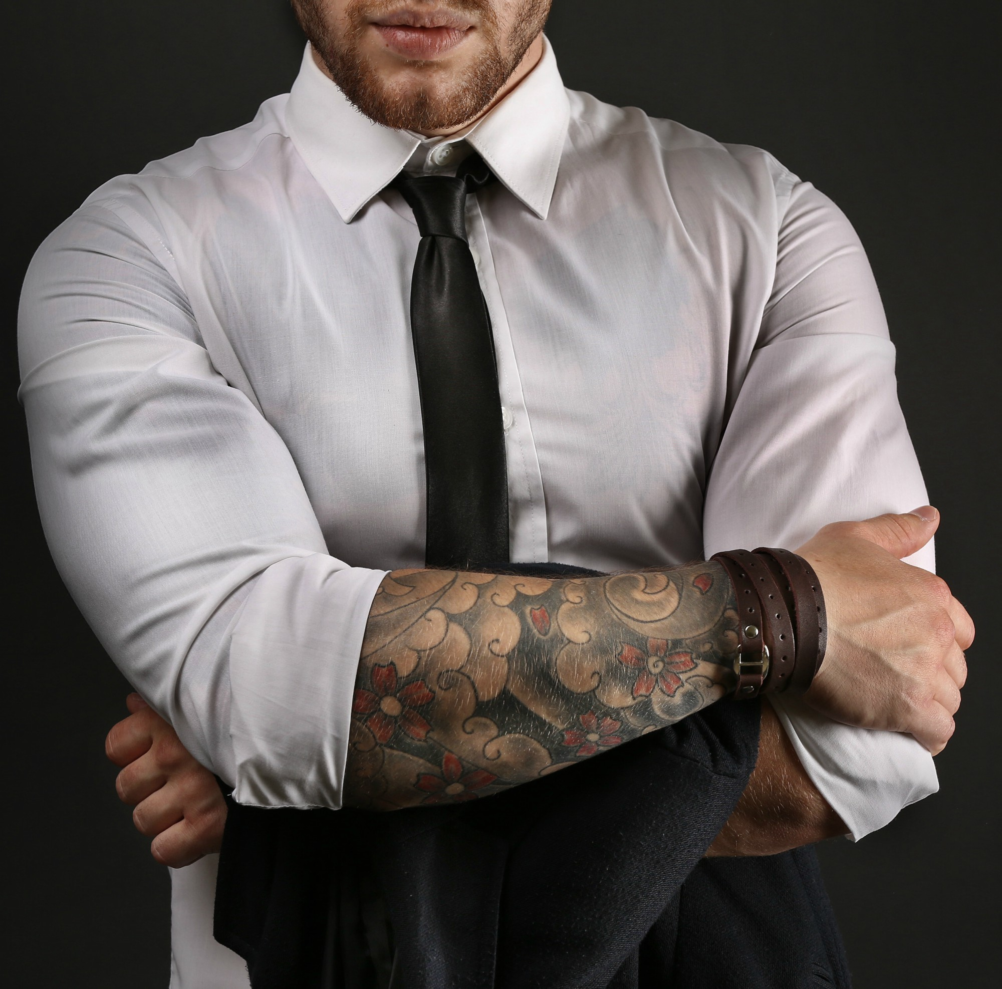 Tattooed Freaks in Business Suits