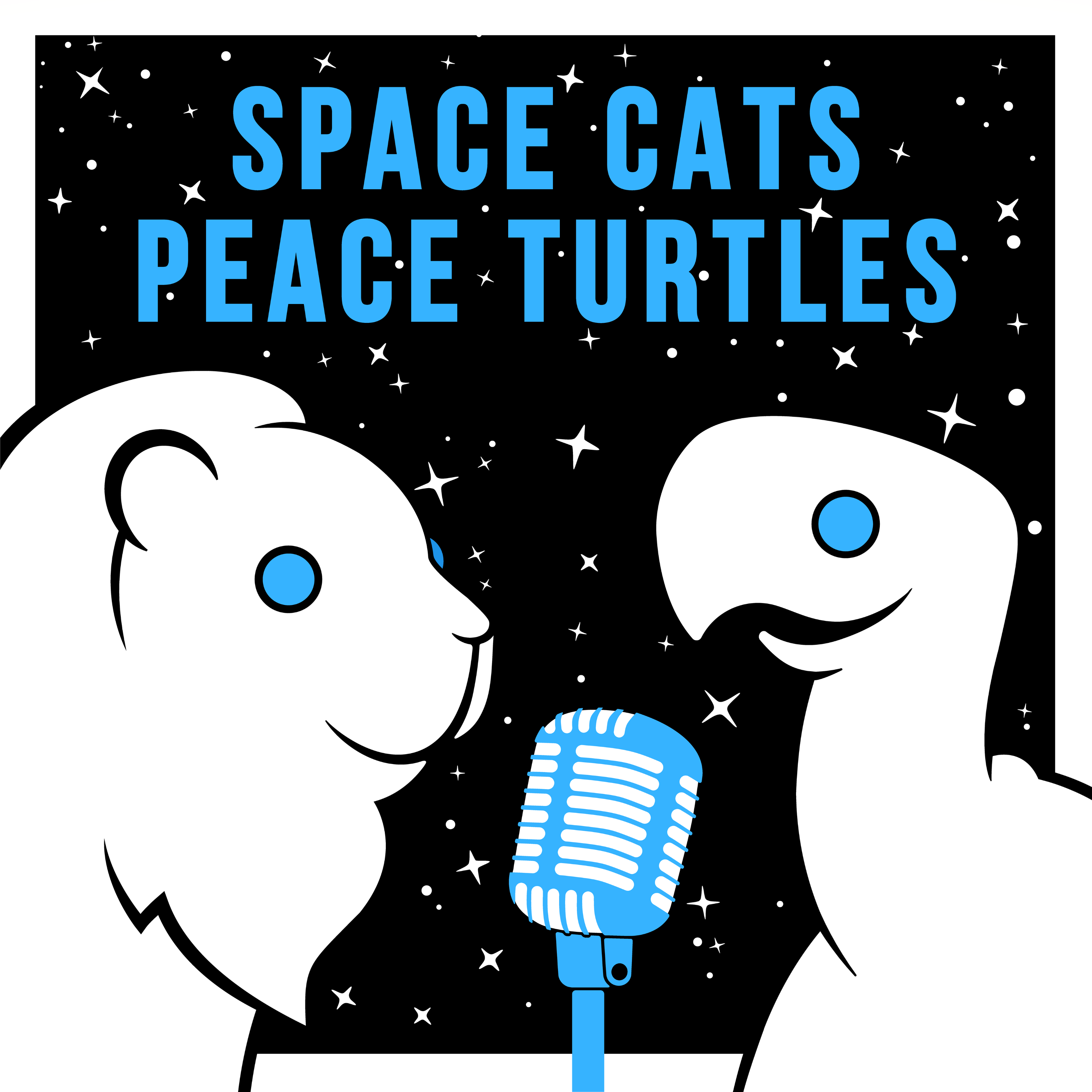 Space Cats Peace Turtles