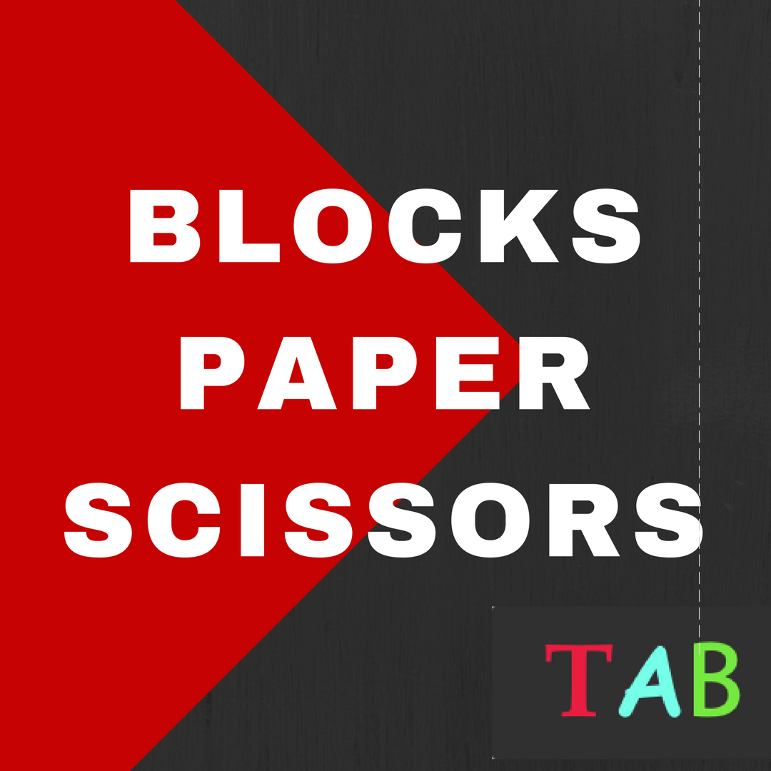 Blocks Paper Scissors