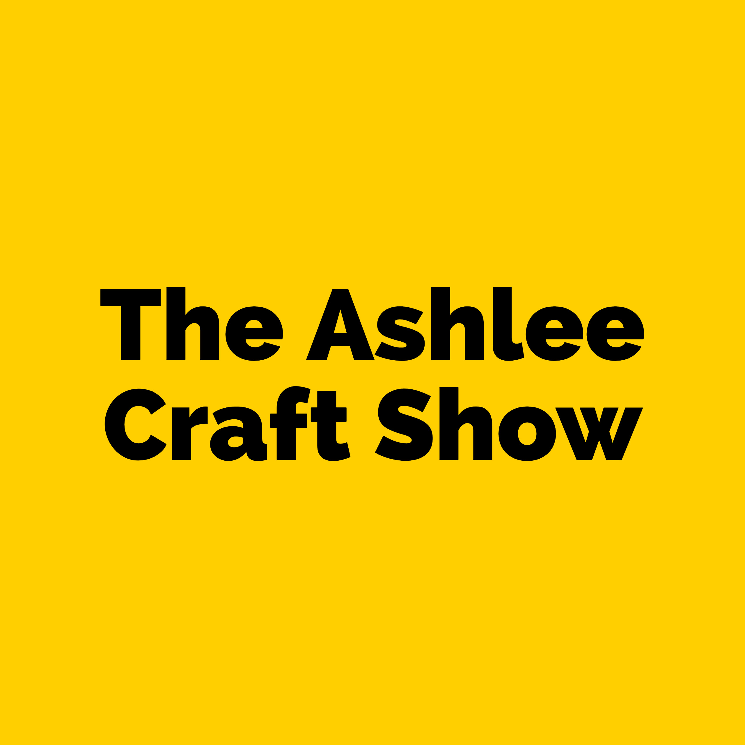 The Ashlee Craft Show