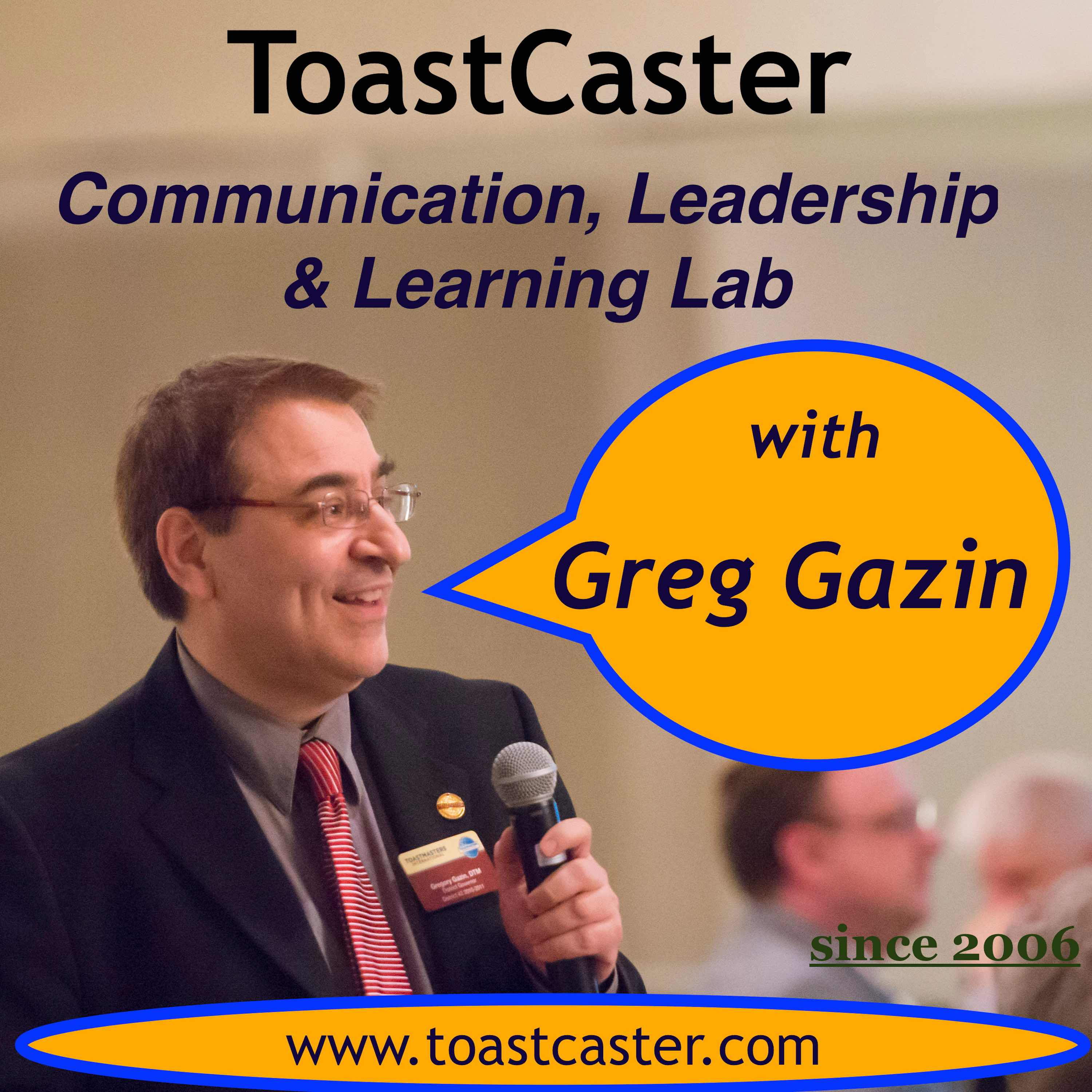 Toastcaster Communication Leadership Learning Lab