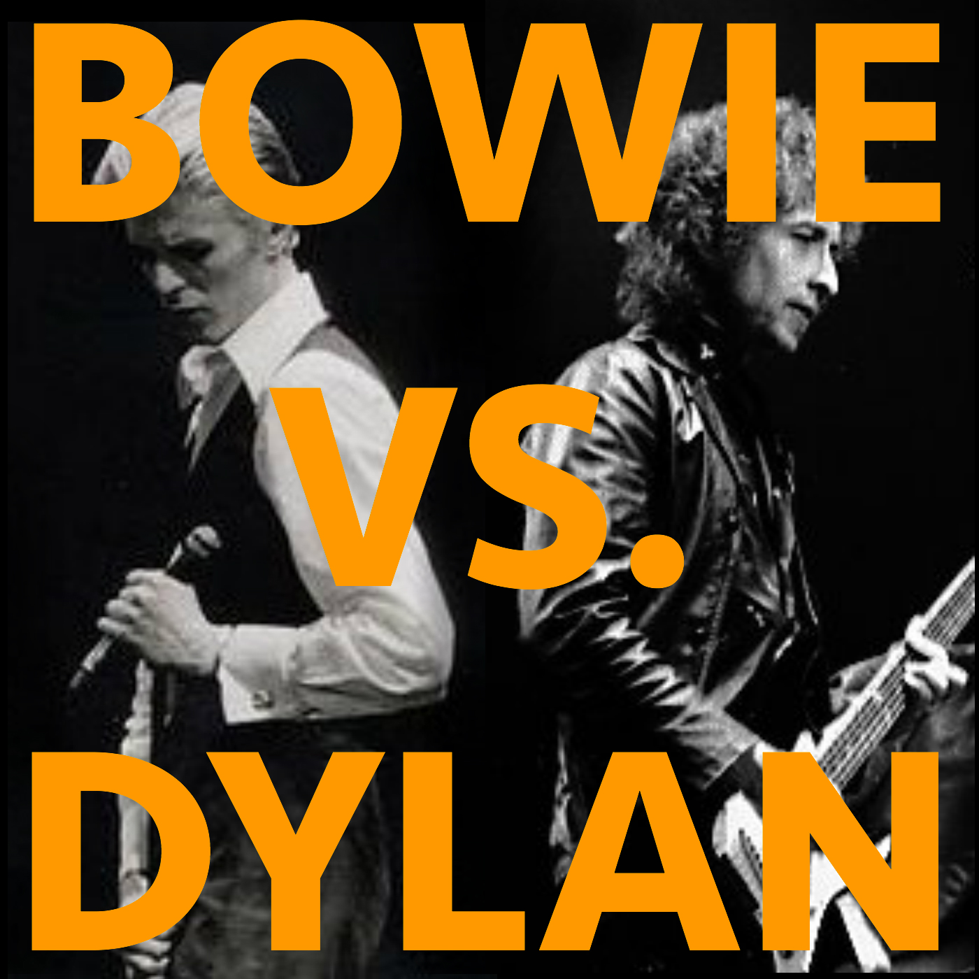 BOWIE VS. DYLAN