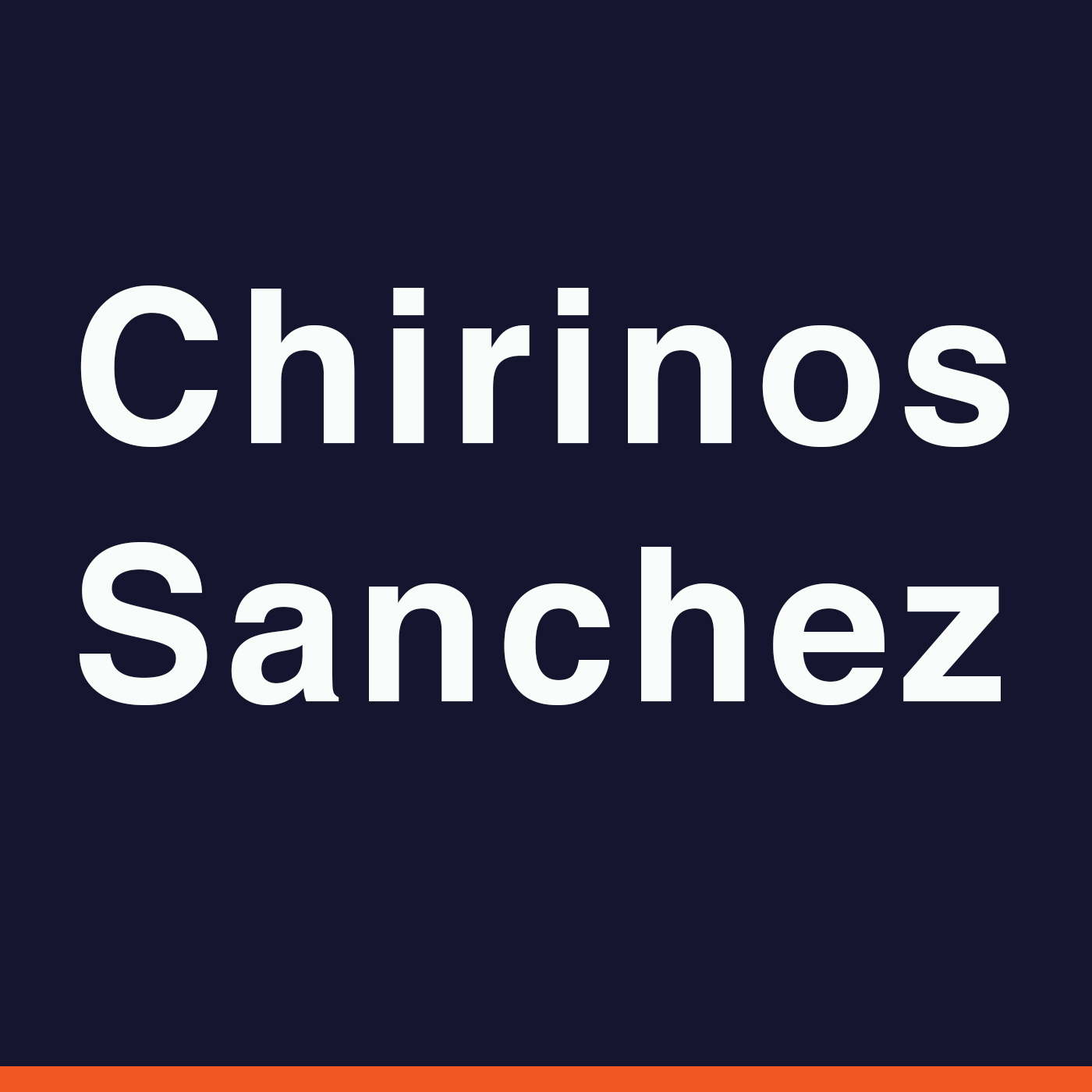 Chirinos Sanchez podcast