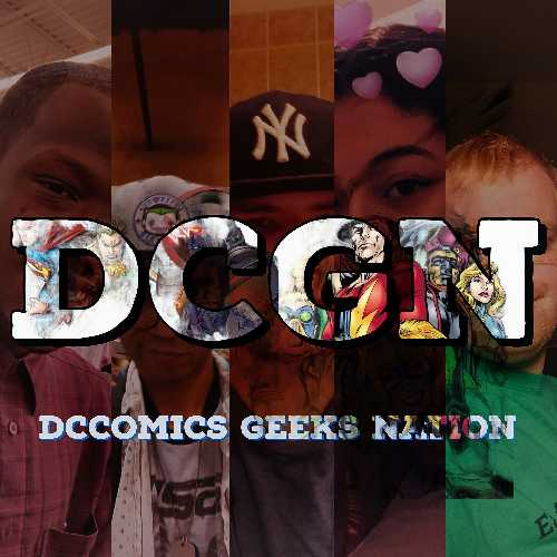 DCComics Geeks Nation Podcast