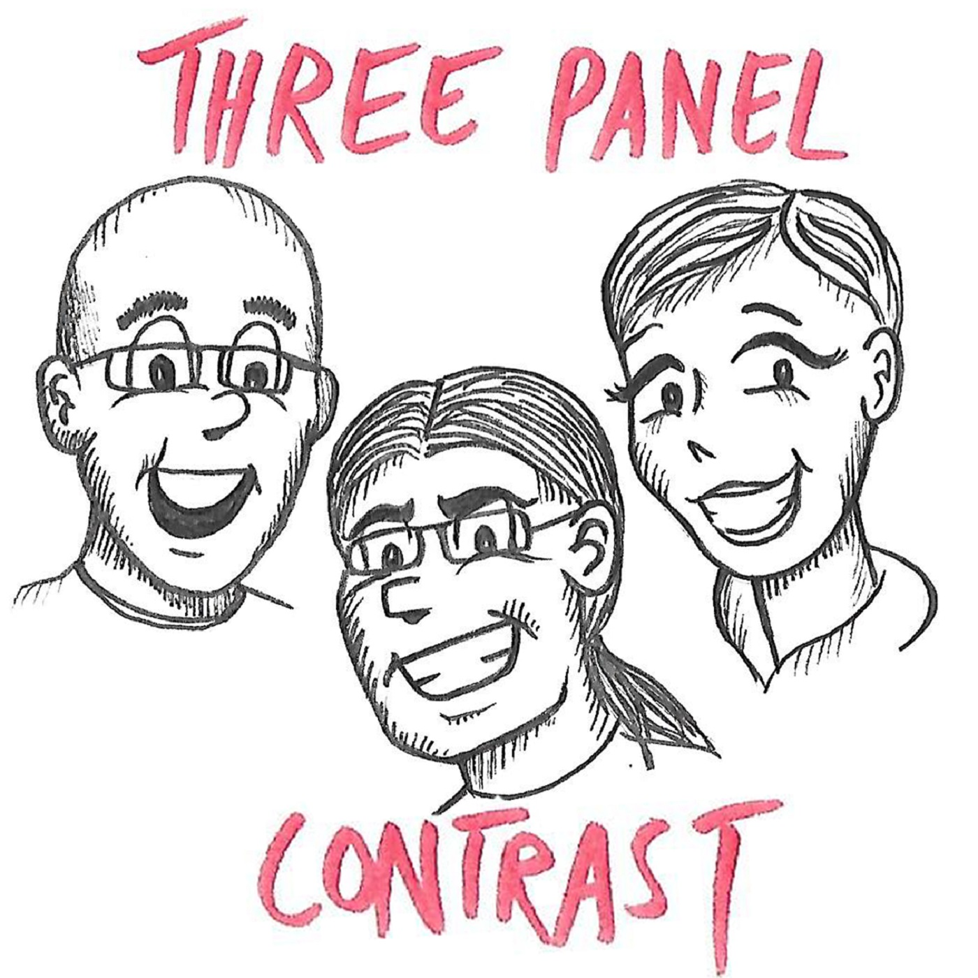 Three Panel Contrast