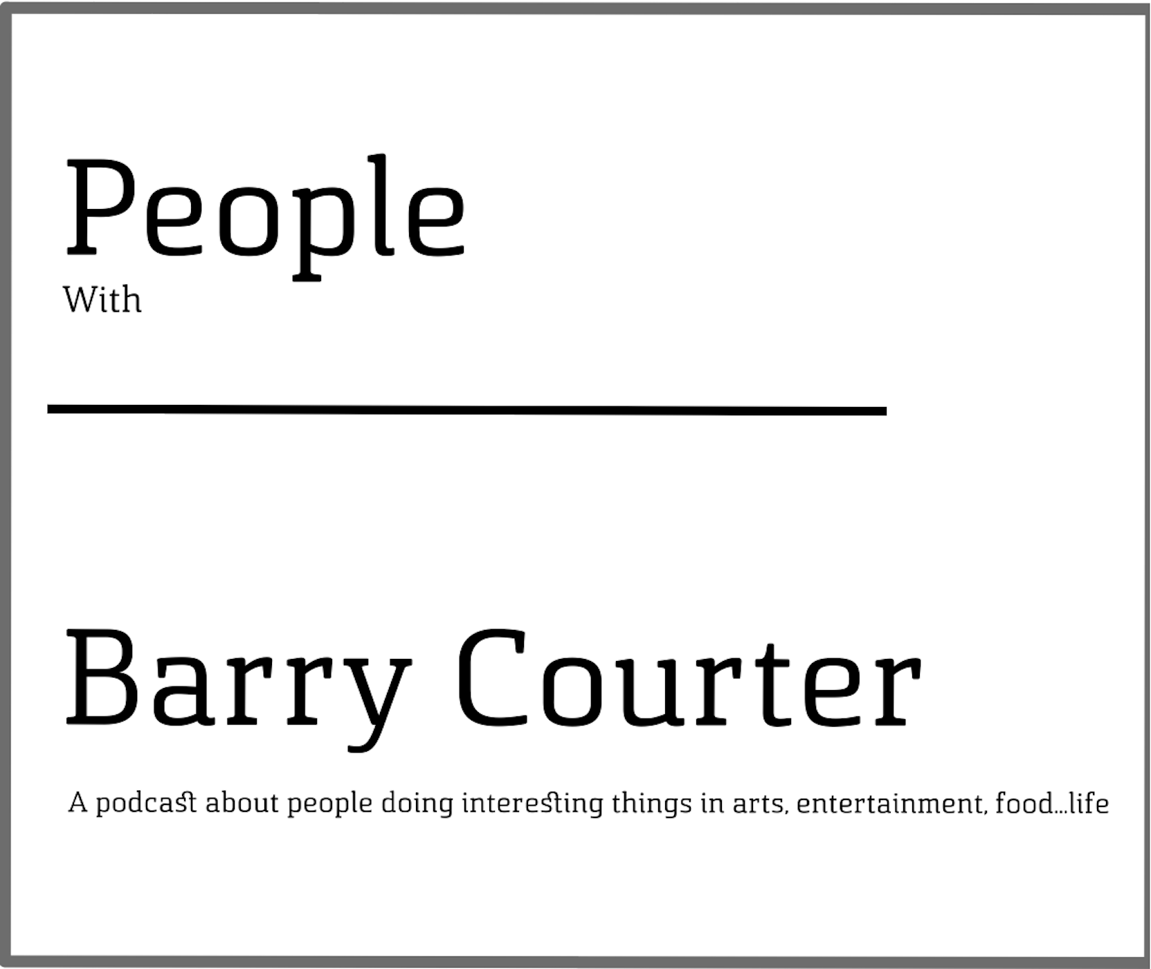People with Barry Courter
