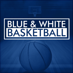 Blue & White Basketball