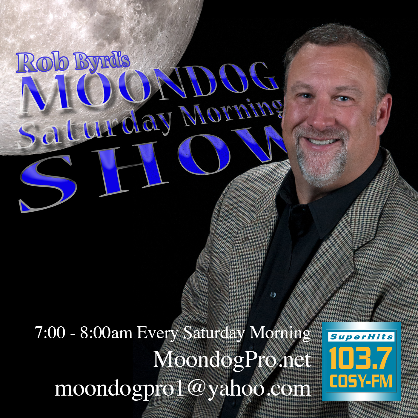 Rob Byrd's Moondog Saturday Morning Show Podcast