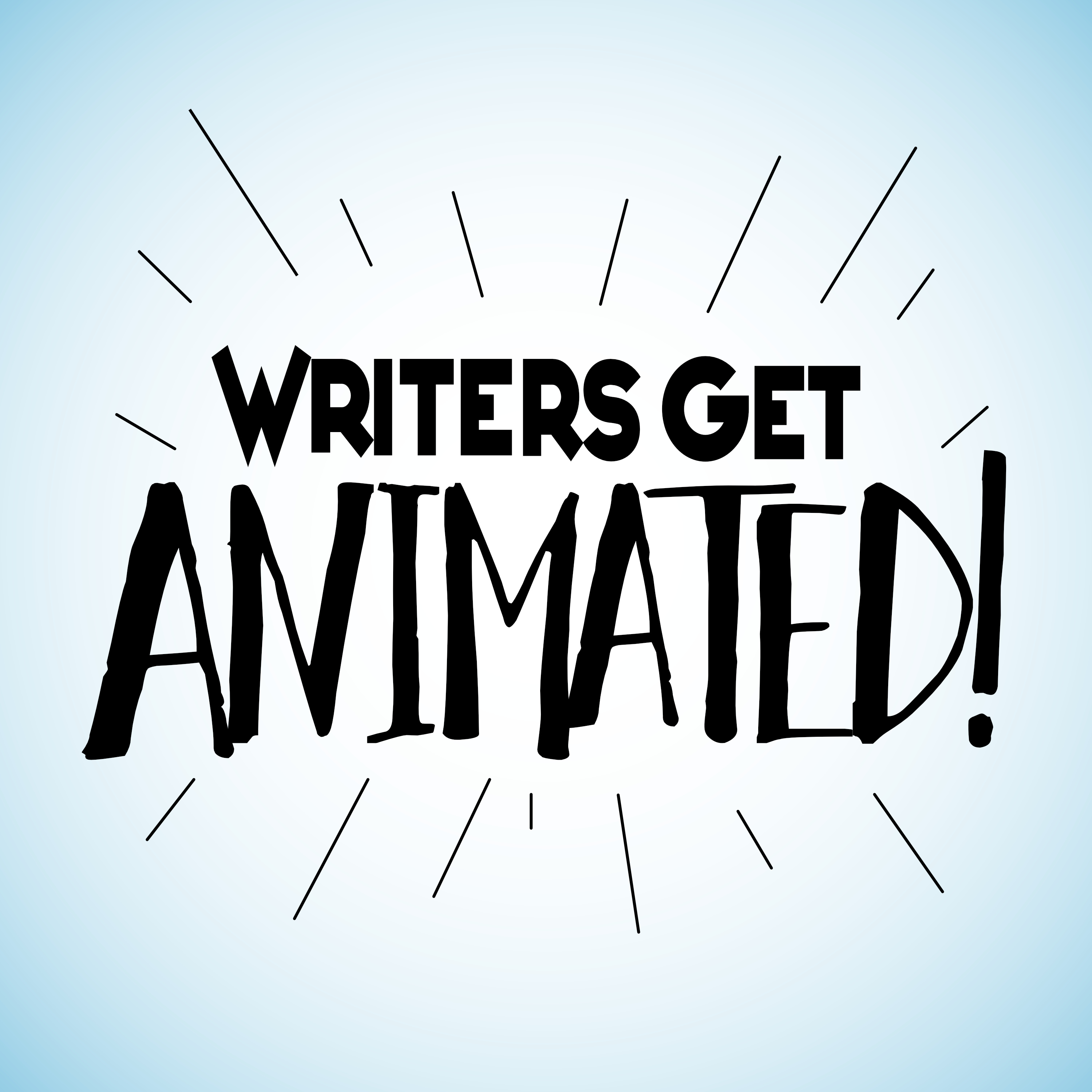 Writers Get Animated