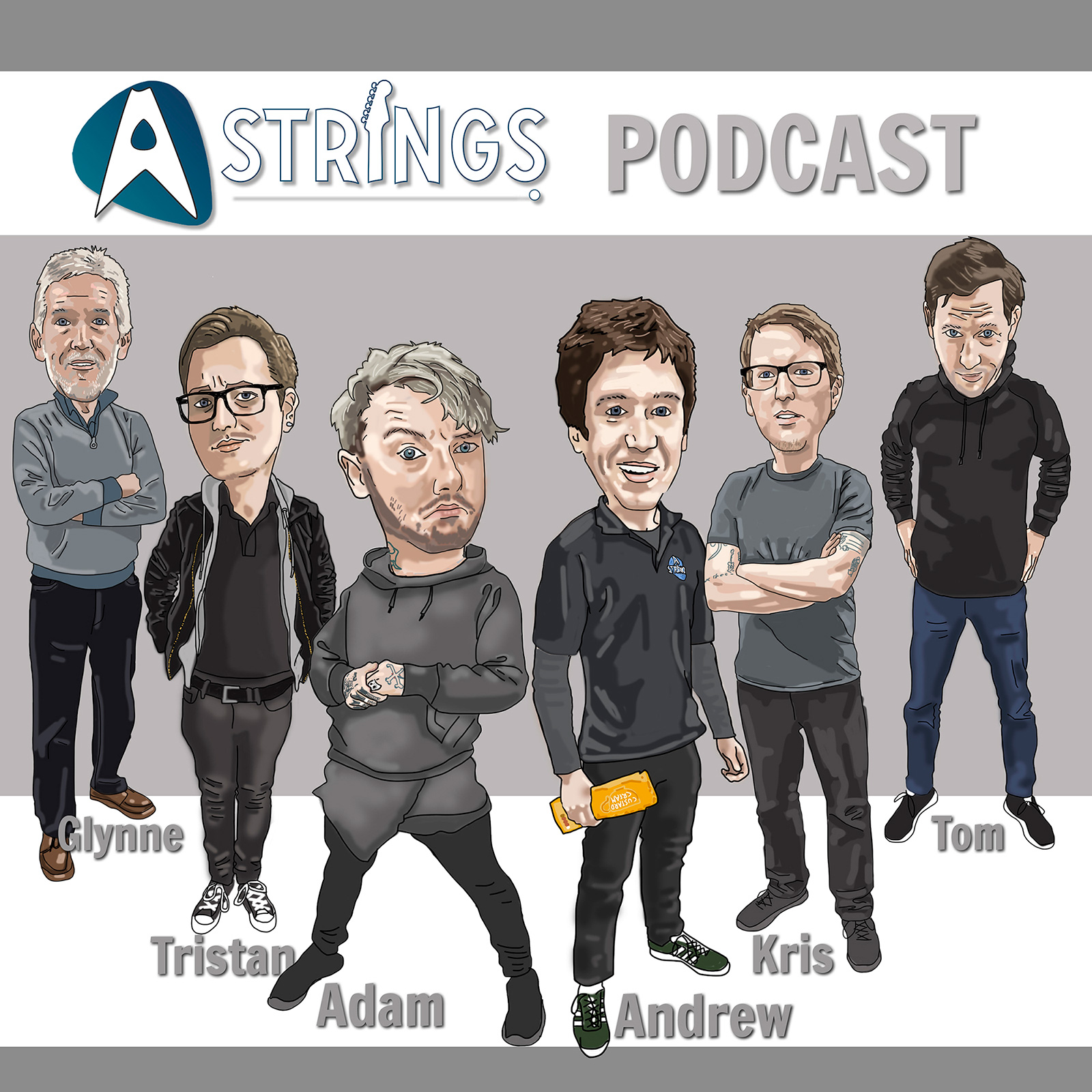 The A Strings Guitar Shop Podcast