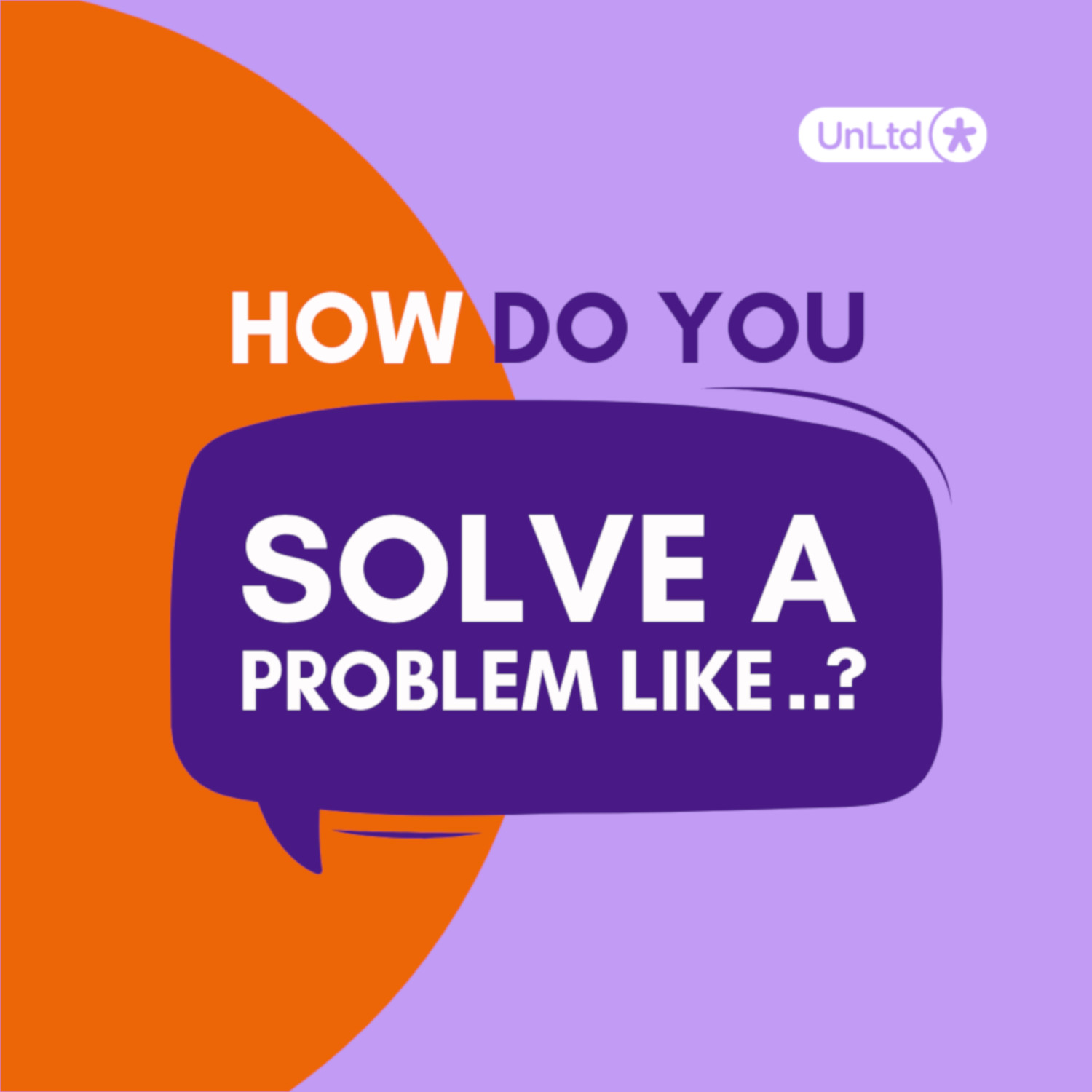 How Do You Solve A Problem Like..?