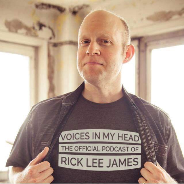 Voices In My Head (The Official Podcast of Rick Lee James)