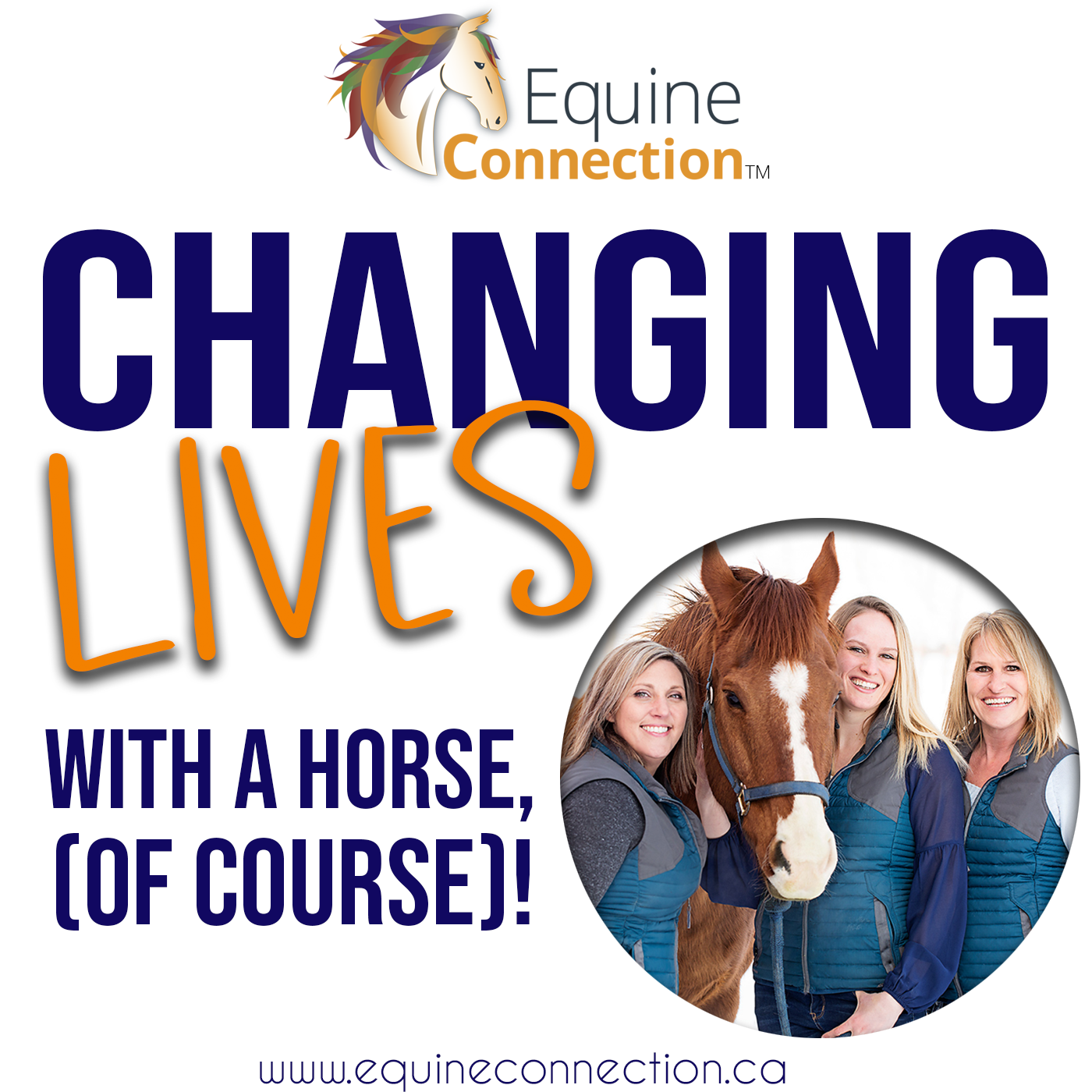 Changing Lives With A Horse, (Of Course)!