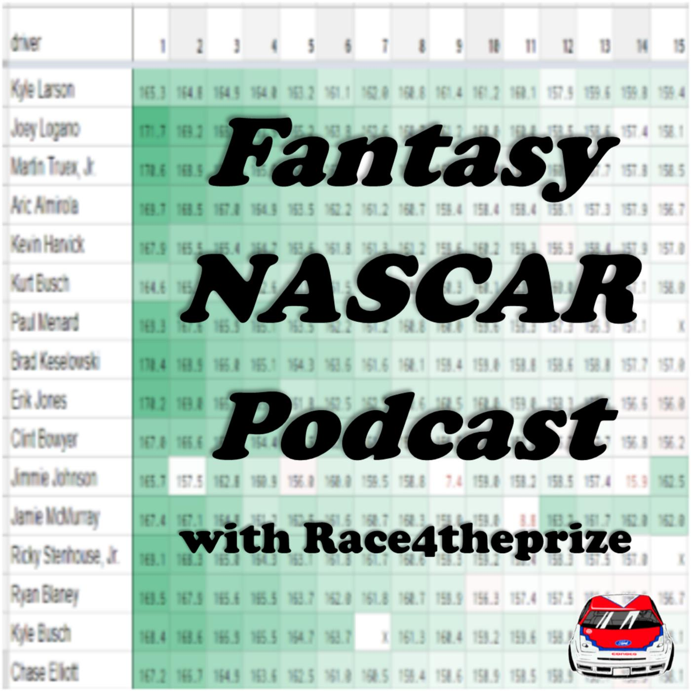 444 - Atlanta Trucks DFS NASCAR Picks - Fantasy NASCAR Podcast