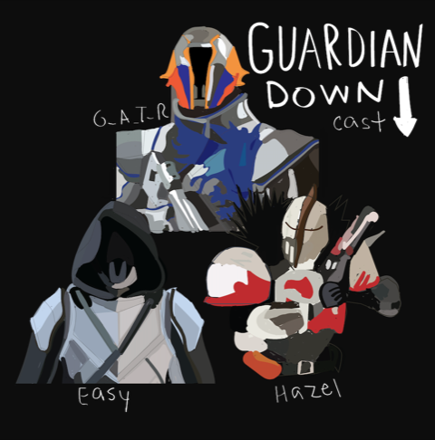 Guardian Down Cast
