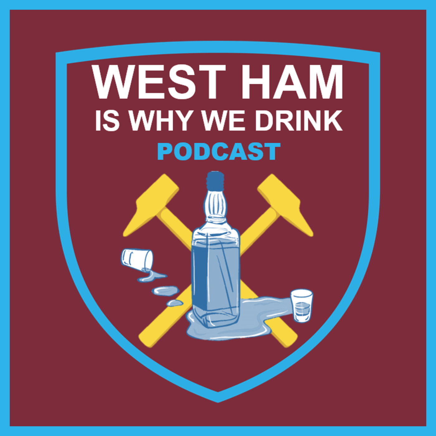 Claret And Banter >> West Ham Is Why We Drink Podcast Podcast Listen Reviews