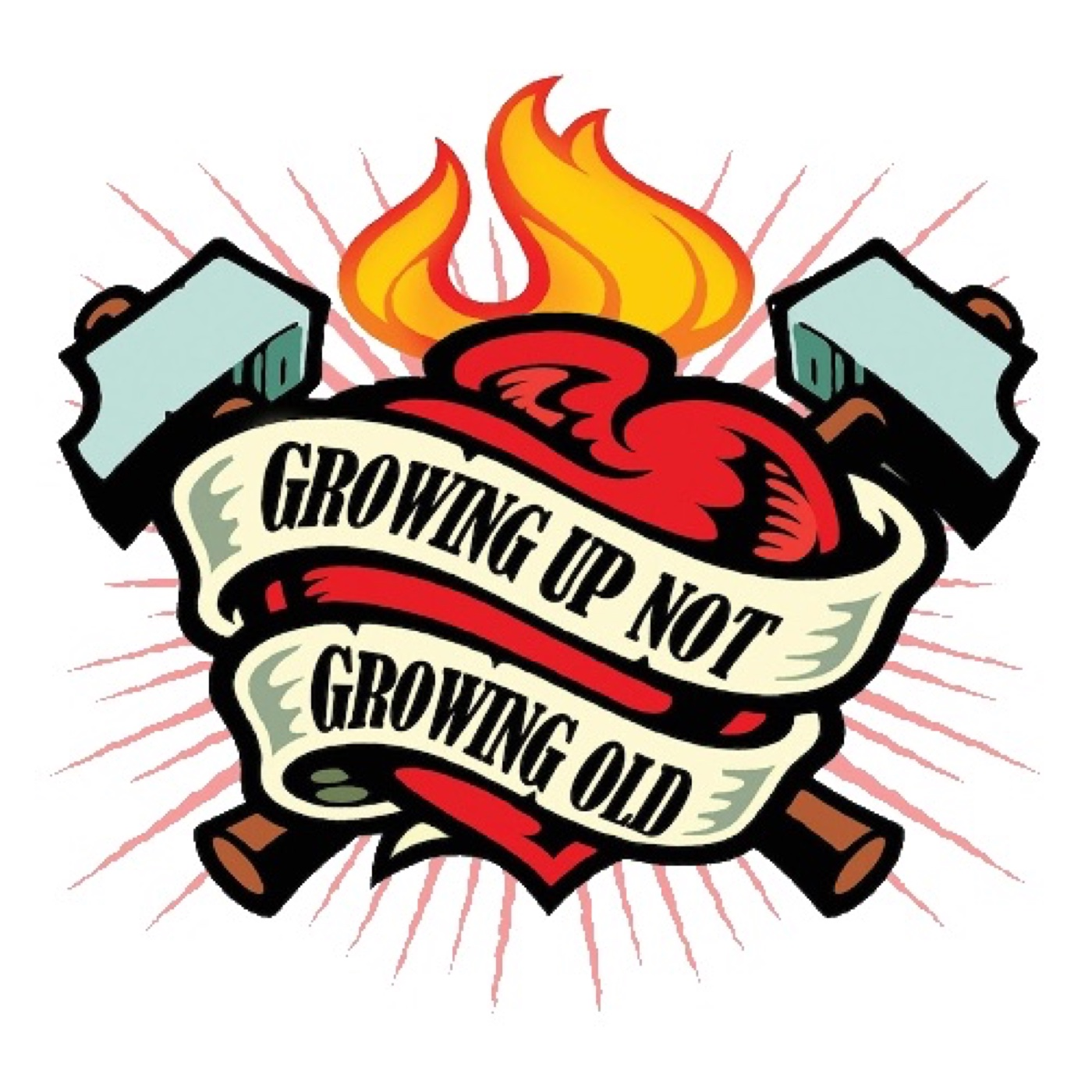 Growing Up Not Growing Old