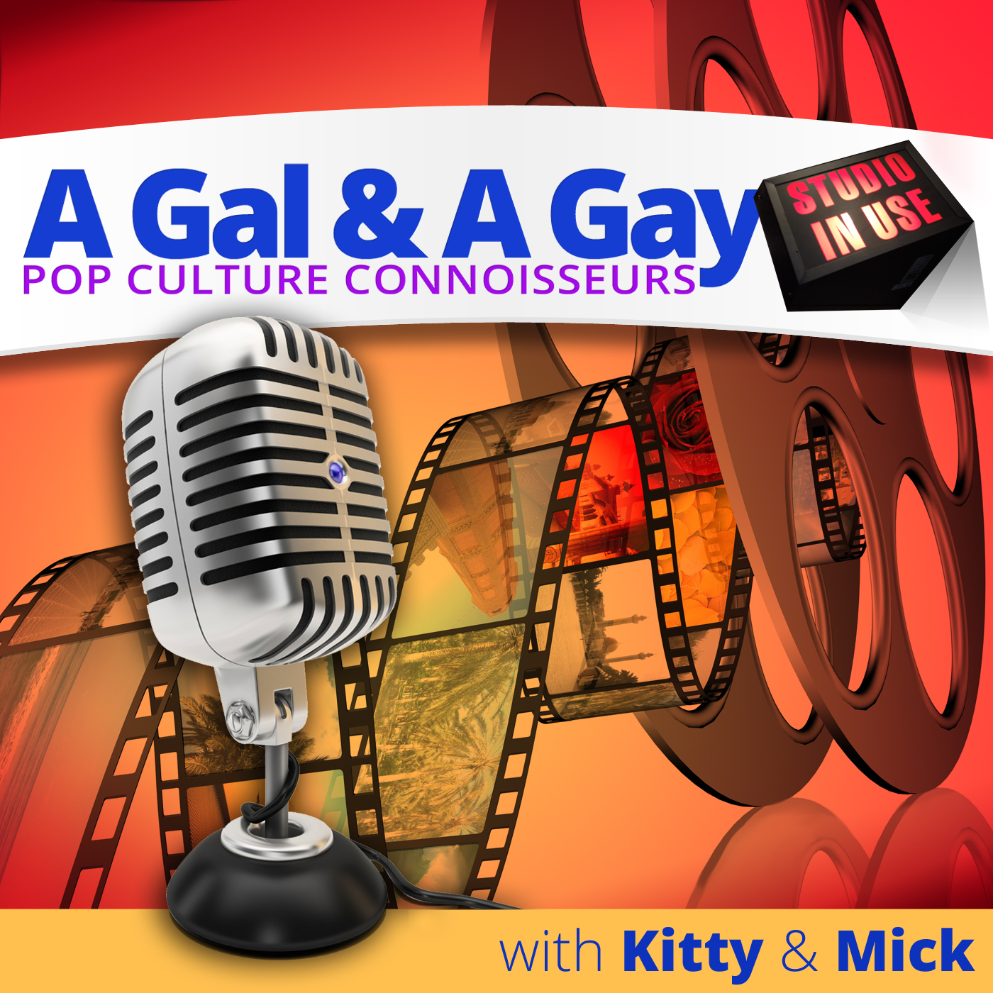 Pop Culture Connoisseurs: A Gal & A Gay
