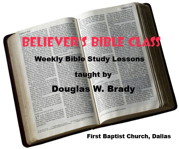 Believer's Bible Class, from the First Baptist Church, Dallas, Texas