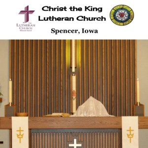The Christ the King (Spencer) Podcast